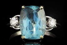 Soft Blue Aquamarine / by The Castle Jewelry Discounters of Diamonds and Fine Jewelry