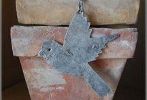 Terra  Cotta Pots, Chimneys,Crosses / by Barbara Müller