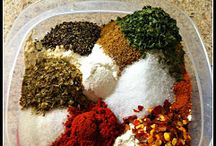 Seasonings & Spices / by Stephanie Mackey