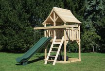 Small swing sets for the boys / by Ashley Reisz
