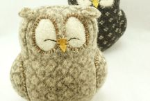 owls, owl, chouettes, hiboux / by lycene