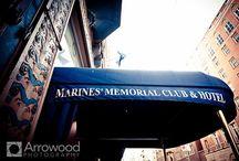 Marines' Memorial Club in San Francisco / by Tara Arrowood Pynn