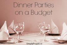 Dinner Party Ideas / by Amanda Stone Gundersen