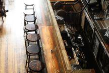 Bars + Restaurants / Design for bars, restaurants, cafés and signage / by Michael Ziegenhagen