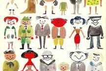 illustrations / by Elenor Martin