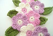 Crochet flower / by Kirsten Herranes