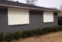 Security Shutters / Ultimate Protection for your home or office. For Storm or Home Security contact Kari kfletcher@txohd.com / by Texas Overhead Door
