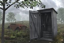The Out House  / by For The Love Of Prims♥