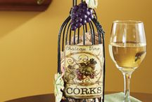 Gifts for Wine Lovers / Put a smile on their face when you give the wine lover in your life the perfect gift that they're sure to love.  From cork holders to wine bottle bags, find unique wine gifts and gift ideas all right here. / by Collections Etc.