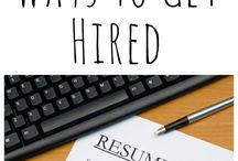 hire me / by Wendy Bertello