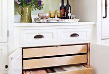 Organizing Tip / Storage / Cleaning Tip / by Leila Pejman