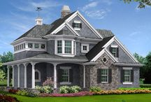 New House Plans / Fresh off the drawing board! Check out our newest house plans from this country's leading architects.  Designed by our award-winning team we offer innovative layouts with attractive interior and exterior features. Whether your taste is traditional or contemporary you will find a suitable style to fit your needs. www.DFDhouseplans.com  / by DFD House Plans