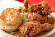 Fried Chicken 4 Ever / I love fried chicken -- southern fried, spicy, Korean fried chicken, Japanese karaage chicken -- love it all! I'm searching for the best recipes out there. FC4ever!  / by Deb Aoki
