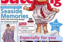 Cross Stitch Magazines - The World of Cross Stitching / by Alice Martin