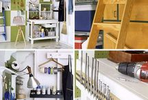 ideas for the garage / by Becky Schmoldt-Klotter