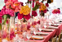 Tablescapes / tablescapes, party events, weddings, table decorations  / by Courtney Whitmore {Pizzazzerie.com}