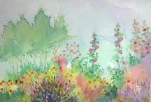pigment on paper / art i love / by Cassandra Lynne