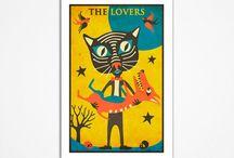 Tarot cards art / by Sue Godfrey