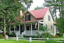 Habersham Cottages / With welcoming front porches and quaint living areas, Habersham cottages are an ideal getaway for second home owners or buyers looking for a more manageable sized home. / by Habersham, SC