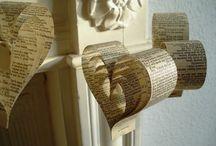 Love Words Wedding / Ideas for the binding of Amanda Davis and Jonathan Atkins.  :) / by Mary Rylander