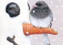 Watercolor Winter / by Sammie Justesen