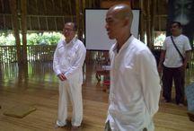 Merta Ada / A renowned #meditation master Merta Ada is teaching meditation to Fivelements staff / by Fivelements Puri Ahimsa