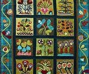 Wool, Quilts, Embellishing & Punchneedle / by Nancy Moore