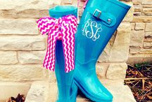 Monogrammed stuff! / by Macie Forsythe