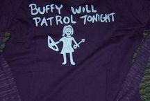 Buffy will patrol tonight... / by Lysee H