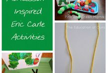 Book Related Kids Crafts & Activities / by Shelly