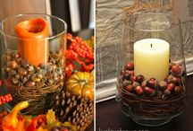 Fall decorating / by Colleen Voss