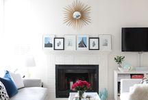 Living room & sunroom / by Melissa Robinson