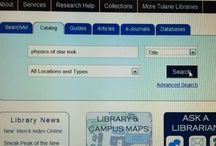 Researching @ Howie-T / by Howard-Tilton Memorial Library