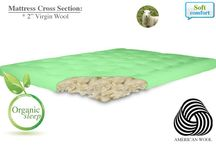 Mattress Toppers / 100% chemical free natural mattress toppers, organic wool mattress toppers, latex & wool mattress toppers and soy-based memory foam mattress toppers are made from soft and supportive ingredients to enhance any sleeping environment. / by The Futon Shop Organic Futons & Mattresses