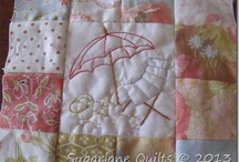Sugarlane Designs by WB / Quilts, stitcheries, and things handmade / by Wendy Bertello