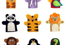 Finger puppets / by Eleanor Wojnar