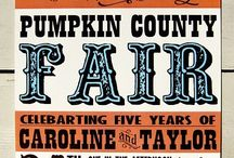 county fair poster ideas / by Jessie Riley