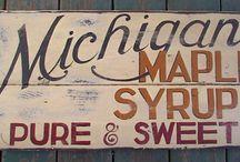 Maple Syrup Memorabilia / by Currey Farms