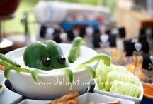 Party / Octopus veggie dip  / by Jennifer Bielek Clifford