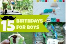 Birthday bear / Planning birthday parties for our son and future children  / by Jenni Holzhauer