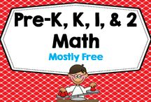 Pre-K thru 2 Math -- Mostly Free / Pre-K, Kindergarten, Grade 1, and Grade 2 mostly free math collaborative Pinterest board---for printables, manipulative lessons, photos of lessons in action that link to blog posts, and Apps---please be sure all pins go to a blog post or product (free or priced). No photos only. PLEASE PIN A FREEBIE AT THE SAME TIME YOU PIN A PRICED PRODUCT, freebies always welcome.  / by Carolyn Wilhelm, NBCT, Wise Owl Factory