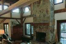 Restored Old Barns - Fireplaces / by Old Barns