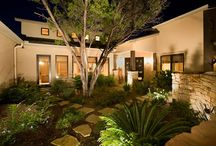 Courtyard Landscape Designs / by Tina Koral