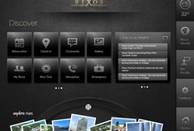 Mobile and web applications for hotel managment / research on some app designs / by Dimitris Kanellopoulos