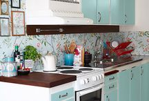 kitchen redo / by Hope Holloway