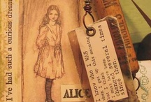 Alice in Wonderland / Art from the Alpha Stamps Design Team / by Alpha Stamps