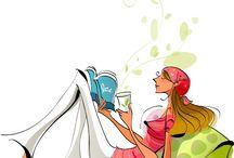 Mujercitas leyendo! / by Angeles Vera