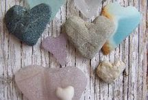 Sandblasted / Sea glass beach glass and all art projects that you can make with these ocean's jewels / by I am Amazing!
