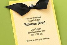 Halloween invitations / by Kellee Mudrow