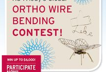2014 Ortho Wire Bending Contest / Voters' choice submissions will be accepted Feb 10 - March 12 | Online voting will be open on Facebook March 14 - March 28 | Online winners will be announced on March 31. / by Hu-Friedy Mfg. Co., LLC